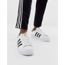 adidas Originals - Superstar - Weiße Sneaker c77124 - Schwarz