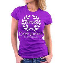Camp Jupiter woman T-shirt, Größe L, Lila