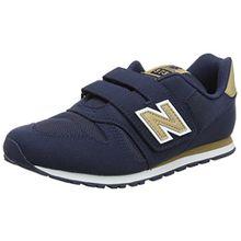 New Balance Unisex-Kinder Kv373v1y Sneaker, Blau (Navy), 32.5 EU