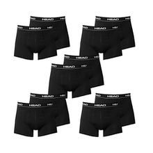 HEAD Men Boxershort 841001001-200 Basic Boxer 10er Pack black, Gr. XL