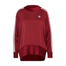 ADIDAS ORIGINALS Sweatshirt burgunder / weiß