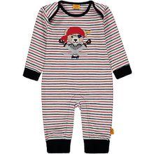 Baby Schlafanzug mit Pirat  weiß Jungen Baby