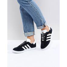 adidas Originals - Gazelle - Sneaker aus schwarzem Wildleder - Schwarz