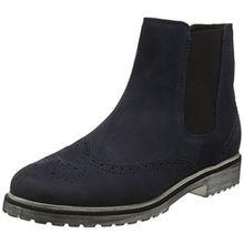 Ganter Damen Chelsea Boots Chelsea Boots Frida, Weite F, Blau (Navy 3100), 40 (Herstellergröße: 6.5)