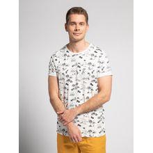 Mishumo T-Shirt in weiss für Herren