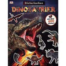 Buch - Sticker-Lexikon. Dinosaurier