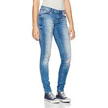 Fritzi aus Preußen Damen Skinny Jeans A07 Tampa, Blau (Middle Blu 002), W31/L32