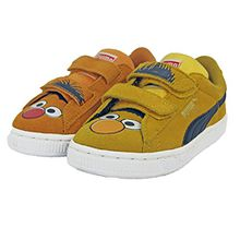 Puma Sesame Street Suede Ernie ET Bert Kinder Sneakers Schuhe Neu