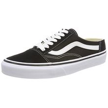 Vans Damen Old Skool Mule Sneaker, Schwarz (Black/True White 6bt), 42 EU