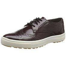 Tamaris 23608, Damen Sneakers, Rot (Bordeaux Pat. 580), 41 EU (7.5 Damen UK)