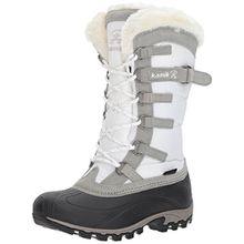Kamik Snowvalley, Damen Schneestiefel, Weiß (WH2-WHITE), 37 EU