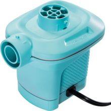 Intex elektrische Pumpe mit 3 Verbindungs-Düsen und Überhitzungs-Schutz, Pumpleistung 650 l/h türkis