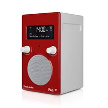 Tivoli Audio - Pal+ BT inkl. Fernbedienung, rot / weiß