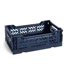 Hay - Colour Crate Korb S, 26,5 x 17 cm, navy
