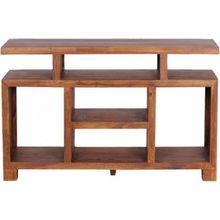 """Sheesham Sideboard & TV Schrank """"Orient"""" Massivholz 120x40 cm braun"""