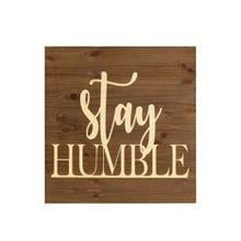 Bild Stay humble, miaVILLA