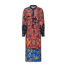 ONLY Kleid 'TALIA' blau / merlot / schwarz