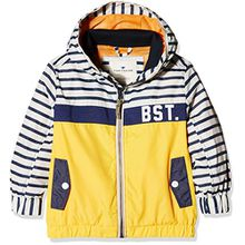 TOM TAILOR Kids Jungen Jacke Urban Nylon Jacket, Gelb (Orange Yellow 3583), 92