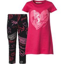 Desigual Set pink / rot / schwarz