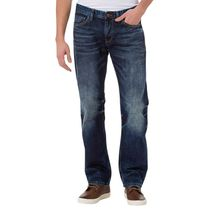 CROSS Jeans Antonio - Slightly Tapered - Crincle Blue Used