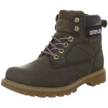 Caterpillar WILLOW P305059, Damen Fashion Halbstiefel & Stiefeletten, Braun (Tyre Nubuck), EU 37 (US 4)
