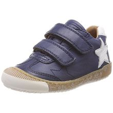 Bisgaard Unisex-Kinder Klettschuhe Sneaker, Blau (Navy), 35 EU