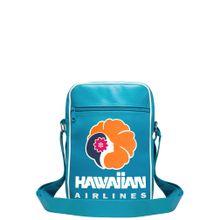 LOGOSHIRT Tasche 'Hawaiian Airlines' himmelblau / orange / weiß