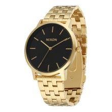 Nixon Armbanduhr 'Porter' gold / schwarz