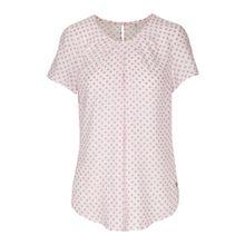SEIDENSTICKER Shirtbluse 'Schwarze Rose' pink / weiß
