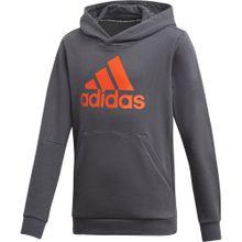 ADIDAS PERFORMANCE Sweatshirt 'Must have Batch of Sport' dunkelgrau / orange