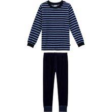 SANETTA Schlafanzug blau / nachtblau