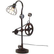 Metall Tischlampe, E27 Fassung, H75 cm schwarz