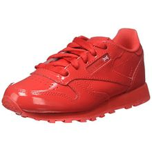 Reebok Unisex-Kinder Classic Leather Patent Sneaker, Rot (Red 0), 35 EU