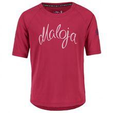 Maloja - Kid's AscheraG. - Funktionsshirt Gr L;M;S;XL rosa;weiß/grau