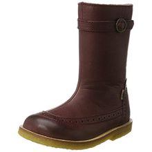 Bisgaard Unisex-Kinder Stiefel, Rot (812 Plume), 35 EU
