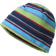 Topfmütze  blau/grün Jungen Kleinkinder
