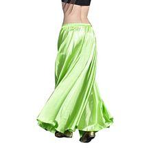YouPue Damen Tanzkostüm Bauchtanz-Kostüm sexy High-End-Dual Rock Bauchtanz Leistungen große Rock Komfort (nicht enthalten Gürtel) Gürtel Kostüme Bauchtanz Taille Kette Frucht grün