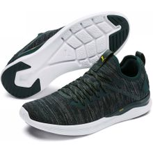 Puma - IGNITE Flash evoKNIT Herren Trainingsschuh (schwarz) - EU 43 - UK 9