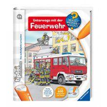 Ravensburger tiptoi® Unterwegs mit der Feuerwehr