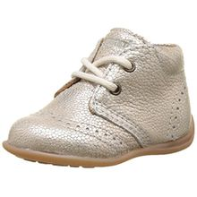 Bisgaard Baby Mädchen Lauflernschuhe Sneaker, Silber (01 Silver), 21 EU