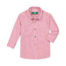 Gloriette Jungen-Trachtenhemd - Rot (86, 92, 98, 104, 116, 128, 140, 152, 164, 176)