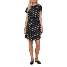 VERO MODA NELLI - Kurzes Kleid - Schwarz Dots