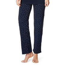Noppies Umstands-Loungehose Pyjama Hose Damen Umstandsmode Nachtwäsche 20555 20550 20565 (L, dark navy)