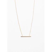 Line Pendant Necklace - Gold