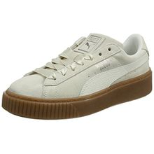 Puma Damen Suede Platform Bubble WN's Sneaker, Beige (Marshmallow), 36 EU