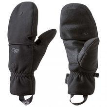 Outdoor Research - Gripper Convertible Gloves - Handschuhe Gr L;M;S;XL schwarz
