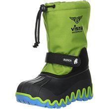 Vista Canada POLAR Kinder Winterstiefel Snowboots grün, Doppelgröße:39/40;Farbe:Grün
