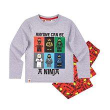 Lego Ninjago Jungen Pyjama - grau - 110