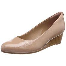 Clarks Damen Vendra Bloom Geschlossene Sandalen, Beige (Beige), 42 EU