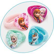 Zöpfchenhalter Disney Princess Frozen, 4 Motive mehrfarbig Mädchen Kinder